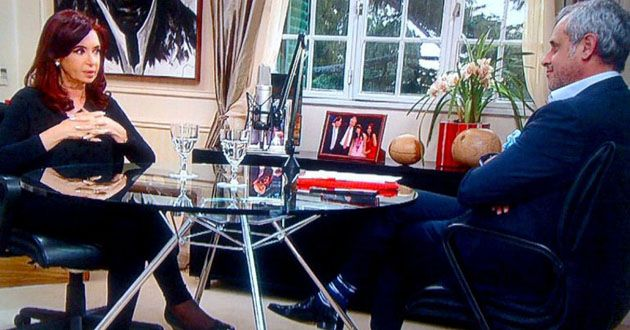 La presidenta le contó a Rieal cómo fue la última noche con Néstor Kirchner.