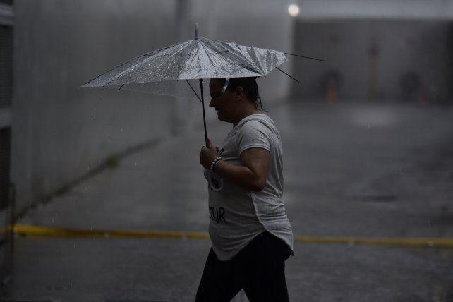 Hoy se esperan lluvias de variada intensidad durante la mañana.