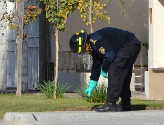 La granada encontrada fue identificada como una FMK2