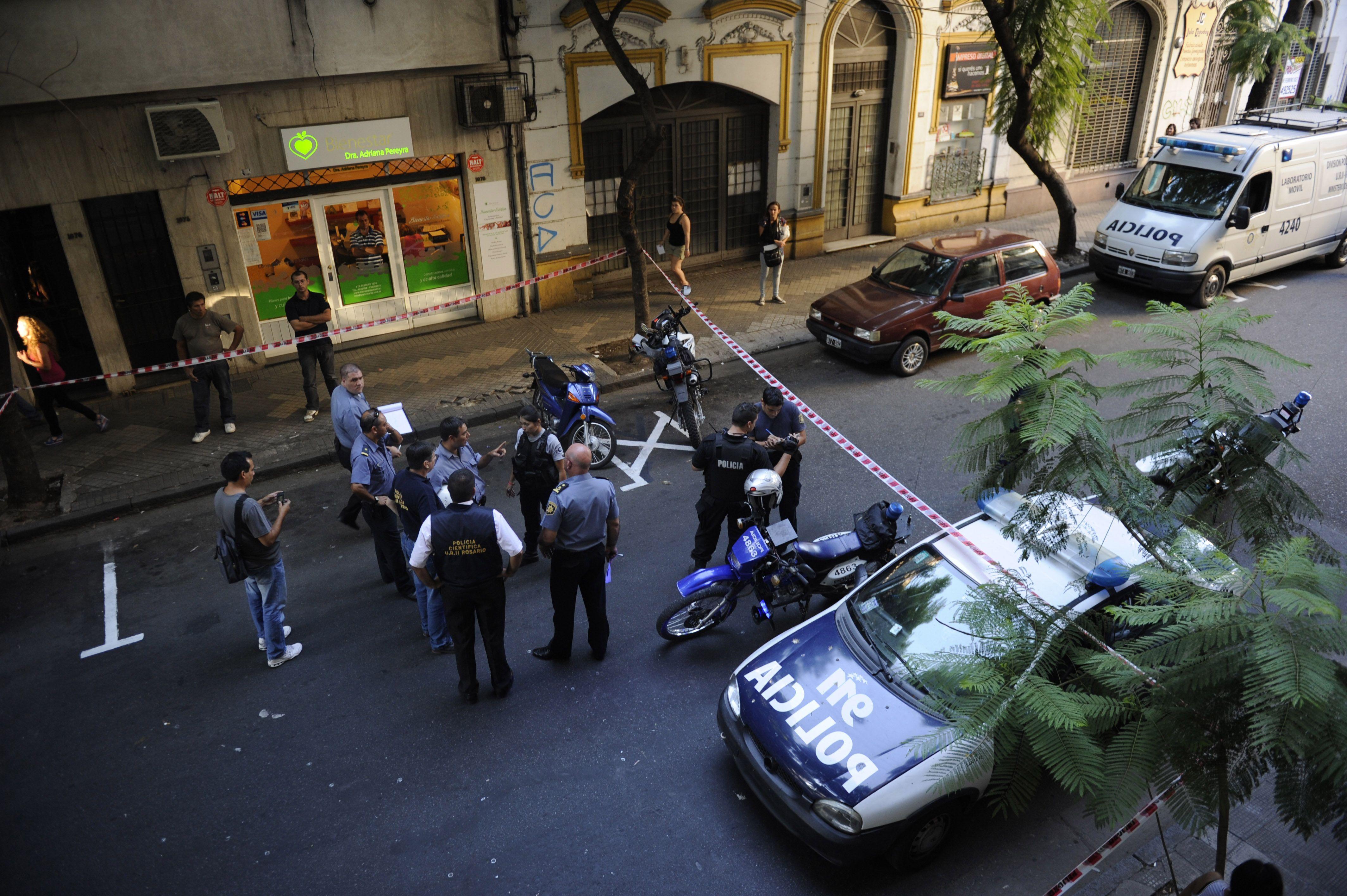 El agente Carlos Dolce murió en la calle