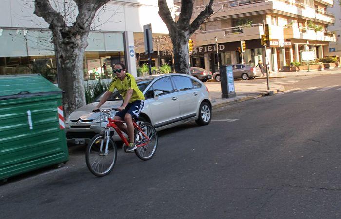 Se proyecta una ciclovía por Oroño