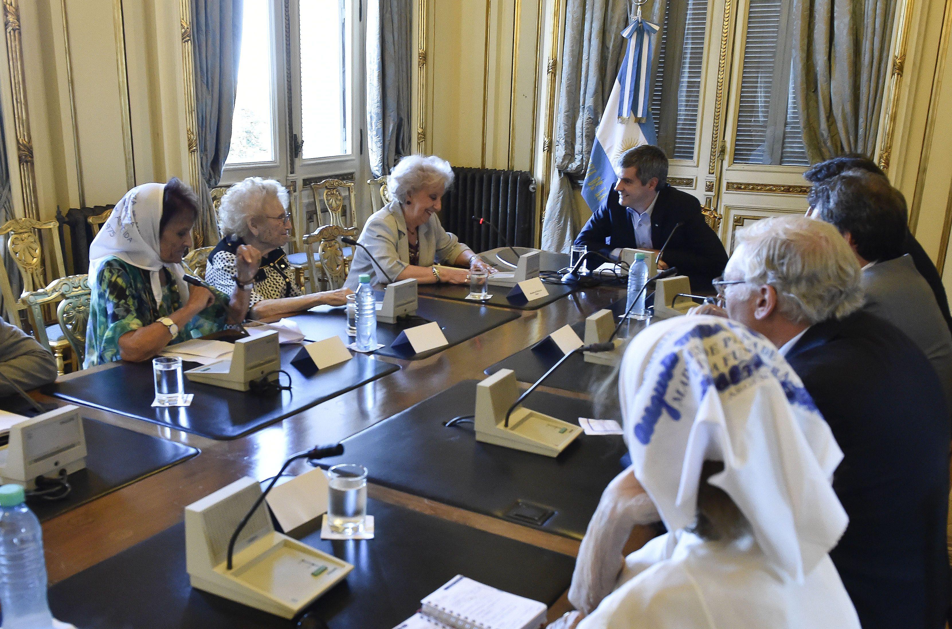 """Carlotto celebró la reunión y desde el gobierno la calificaron como """"un paso productivo"""". (NA)"""