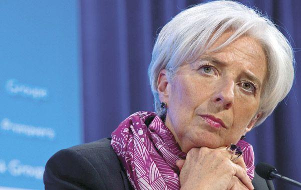 Pesimismo. La directora gerenta del Fondo Monetario Internacional