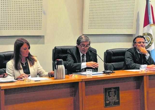 tribunal. Los jueces María Isabel Mas Varela