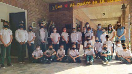 Estudiantes de Pujato, premiados por un proyecto en el que fueron guardianes de árboles