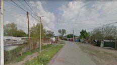 El crimen se produjo este sábado por la tarde en la zona de Cavia al 1300.