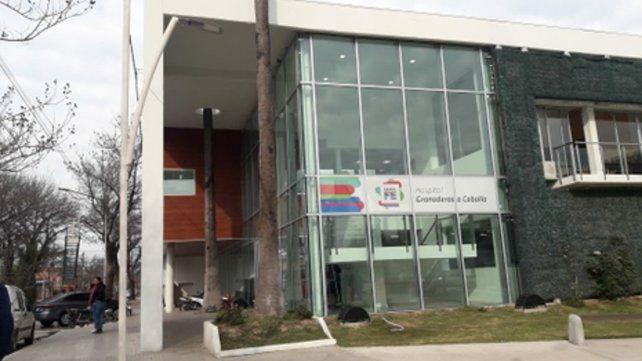 El hospital de la ciudad de San Lorenzo