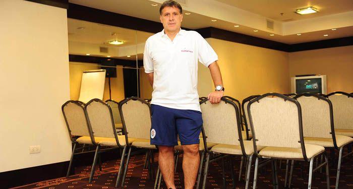 El Tata Martino quiere que Central vuelva a jugar en primera división