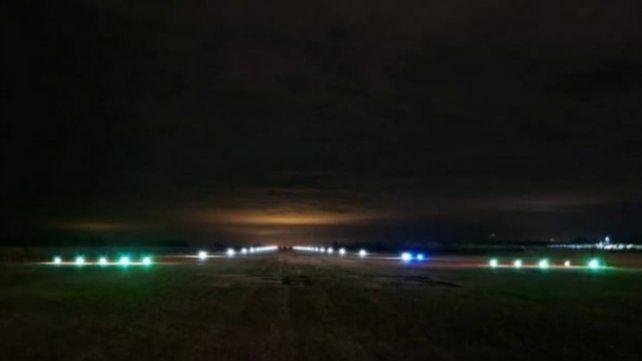 Así luce ahora la pista del Aeroclub de Casilda.