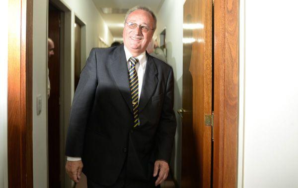 El presidente de Rosario Central