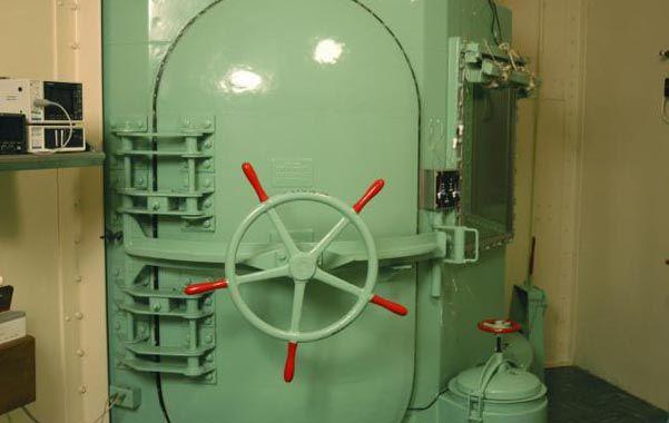 Trágico. Una cámara de gas usada en ajusticiamientos en estados de EEUU.