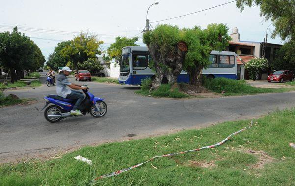 El crimen de Marcelo Biscoglio ocurrió ayer alrededor de las 4 en inmediaciones de Génova y Barra. (S.Meccia)