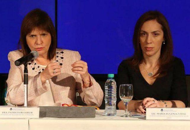 Patricia Bullrich y María Eugenia Vidal dan la pelea de fondo en el principal bastión electoral del PRO.