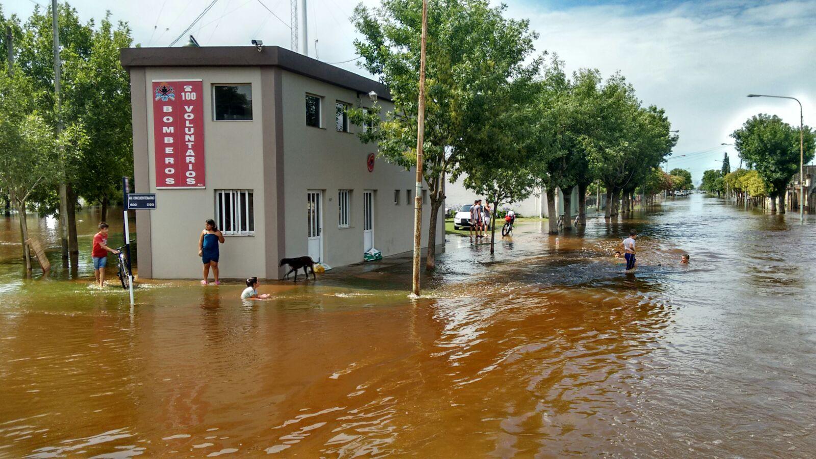 María Susana  tiene el 80 por ciento de su casco urbano afectado por las lluvias