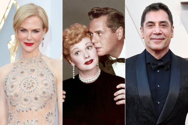 No tan distintos. Nicole Kidman y Javier Bardem darán vida a la clásica pareja de Lucy y Desi Arnaz