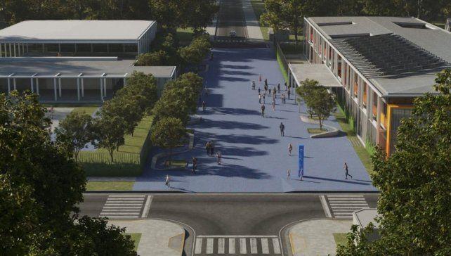 La provincia proyecta las primeras escuelas post pandemia del país