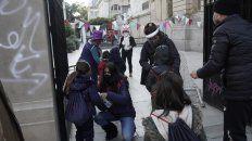 Celebracion de bienvenida. Ayer, unos 150 establecimientos educativos recibieron a unos 33 mil niñas y niños de Jardines de Infantes.