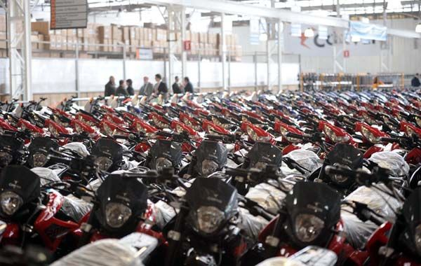 El mercado de motos creció 2.100% en ocho años. Las fábricas locales ganan participación. (Foto: Sebastián Suárez Meccia)