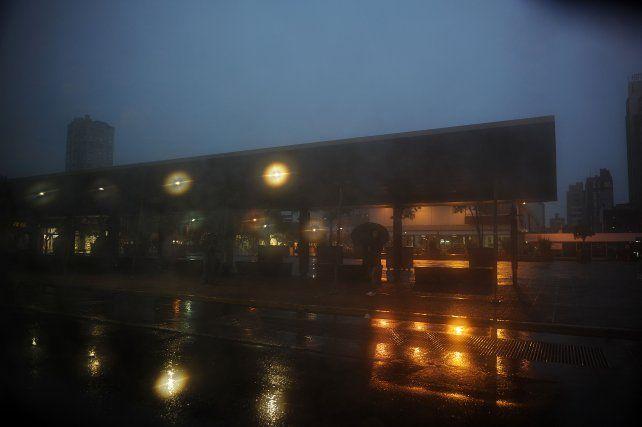 La lluvia trajo un poco de alivio y bajó la temperatura. (Foto de archivo)