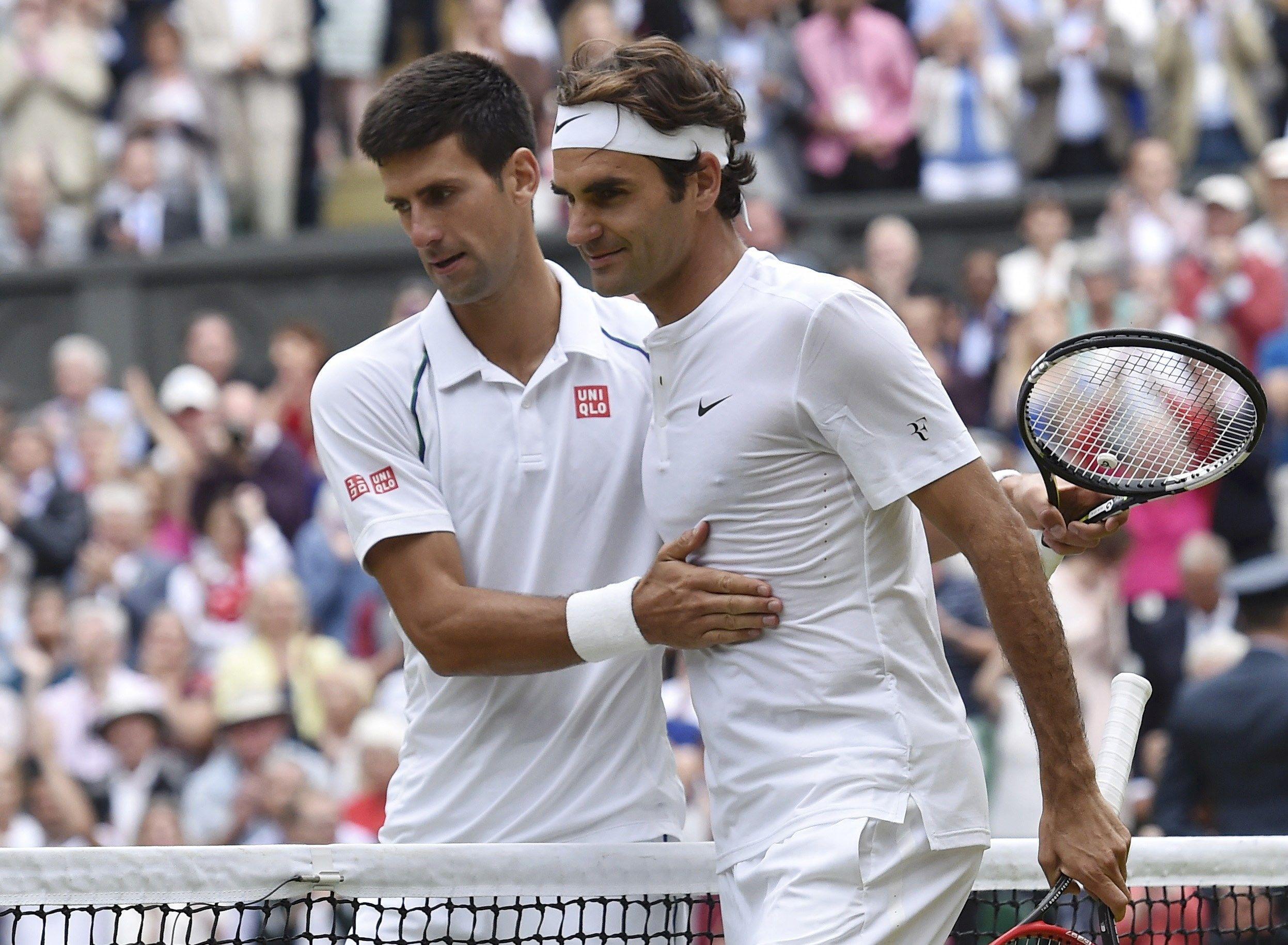 Gran año. Djokovic y Federer fueron los grandes animadores de la temporada. (Reuters)