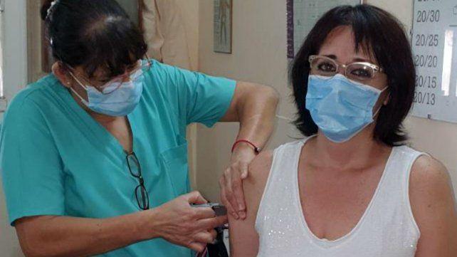 Patricia Maciel, médica de la UTI del hospital.