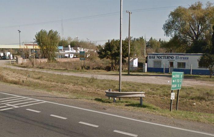 Fue hallanado hoy el domicilio de una mujer vinculada con el bar nocturno El Cruce ubicado en la intersección la A-012 y ruta 18.
