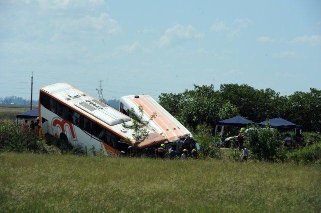 El 24 de febrero ocurrió el siniestro vial en el que chocaron dos unidades de Monticas en la ruta 33.