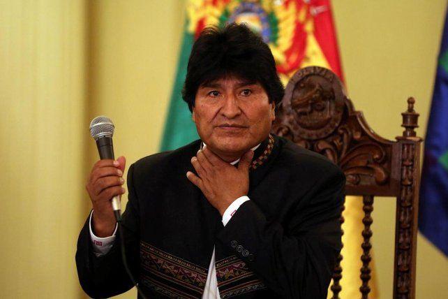 Al presidente boliviano le extraerán en Cuba unos nódulos de las cuerdas vocales.