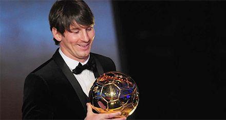 Europa no se banca que el Balón de Oro haya sido para Messi
