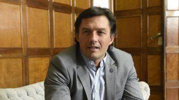 Matías Gorosito. El máximo dirigente del rugby rosarino no pierde la esperanza de ver este año los equipos en cancha.