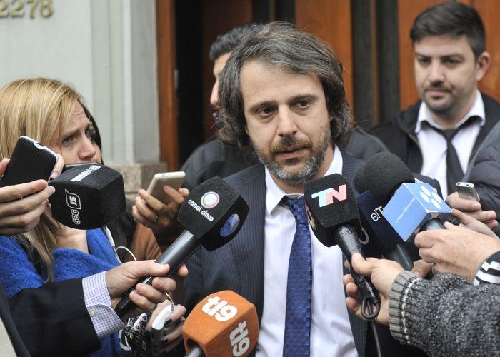 Miguel Moreno dio detalles del hallazgo del cuerpo del empresario. (Foto: Virginia Benedetto)