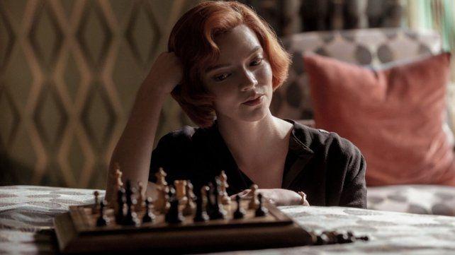 """""""Gambito de dama"""". En el rol de Beth Harmon"""
