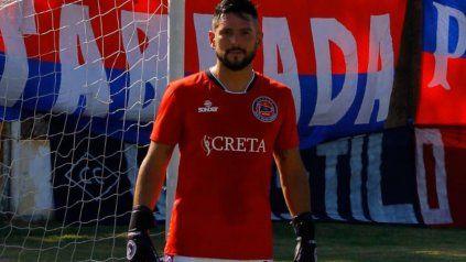 Figura del charrúa. Matías Giroldi pieza clave del equipo comandado por Juan Rossi en el torneo de la Primera C.