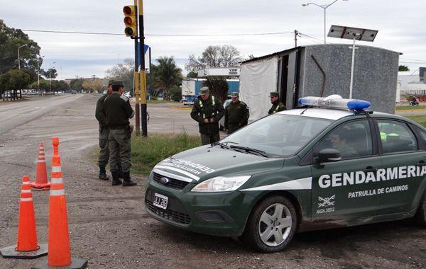 Gendarmería inauguró un nuevo puesto de vigilancia en la ciudad de Las Parejas.