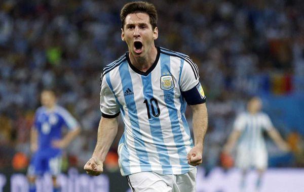 Segura dijo que con Messi la selección tiene un valor agregado.