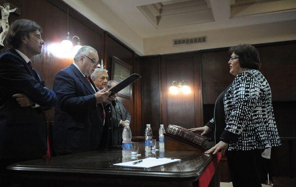 Delia Paleari asumió ayer en el Juzgado de Instrucción Nº 8 cuando se esperaba que lo haga en el Nº 5