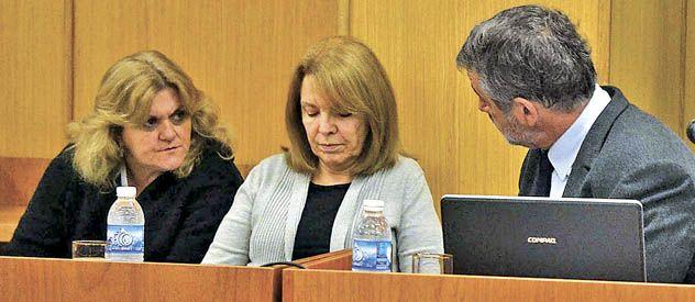 Susana Freydoz se secó las lágrimas y escuchó sin inmutarse cómo el juez le informaba la condena.