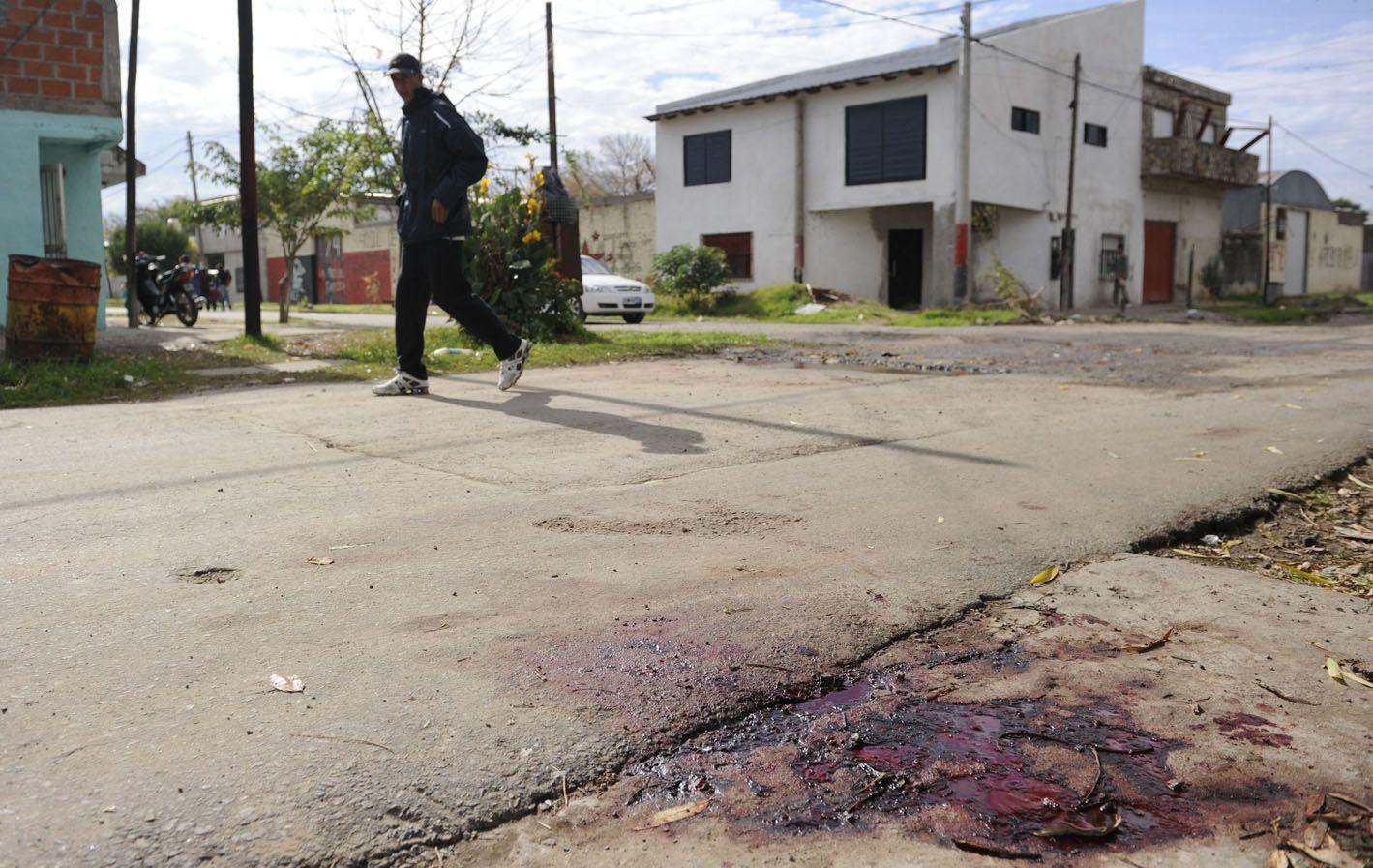 El lugar donde en mayo del año pasado mataron a Cristian Gauna.