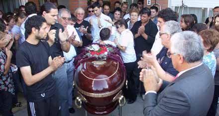 Una multitud dio el último adiós al intendente de Las Parejas