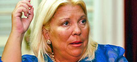Elisa Carrió: Sostuve a una presidenta cuyo propio marido quería que se fuera