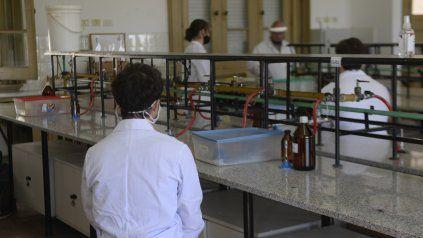MÁS PRESENCIALIDAD. Alumnos del Poli usarán aulas de la Facultad de Ingeniería.