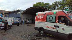 Los trabajadores del Sies señalaron que son siete las ambulancias que están en servicio, sobre un total de 16.