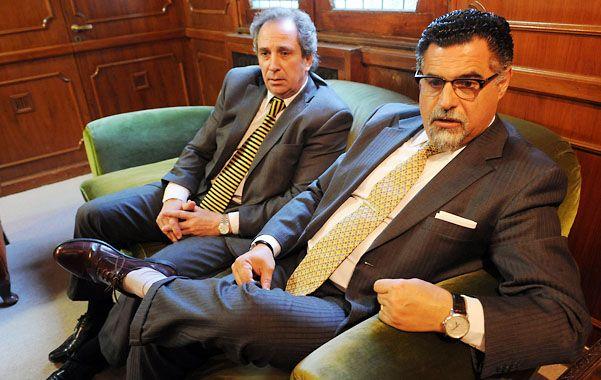 Miguel García y Gustavo Feldman