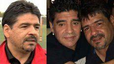 Hugo Maradona, actualmente en Italia, estaba distanciado de su hermano Diego.