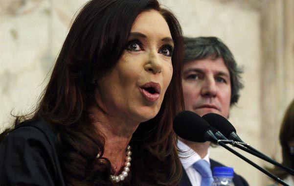 Explicación. Cristina sostuvo que la propuesta será igual porque si no se estaría estafando al resto de los bonistas.