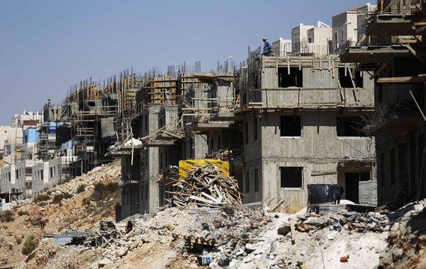 Construcción. Las colonias israelíes