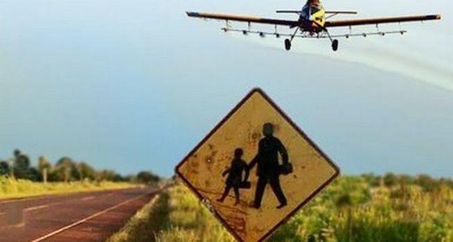 El proyecto presentado por Nuevo Encuentro prohíbe fumigaciones cerca de escuelas rurales. (Foto de archivo)