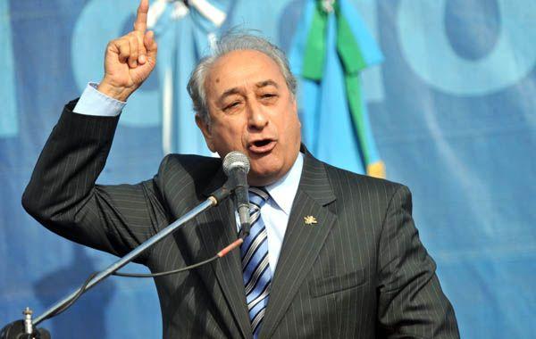 Arturo Puricelli habló ayer en la cumbre de Punta del Este.