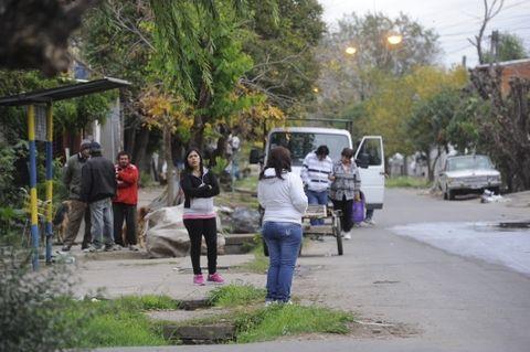 La esquina de Lima y Cerrito