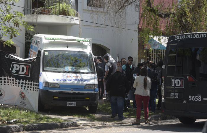 El doble crimen ocurrió el 16 de octubre en Castro Barros al 5500. (Foto: Héctor Río / La Capital)